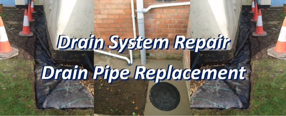 Drain Repair Replacement Service